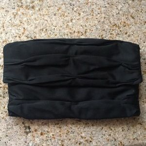 Express black clutch.